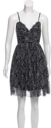 Zac Posen A-Line Mini Dress