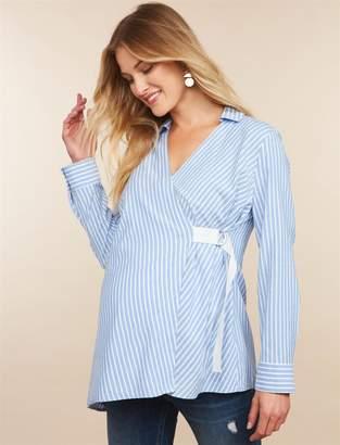 Motherhood Maternity Striped Maternity Tunic