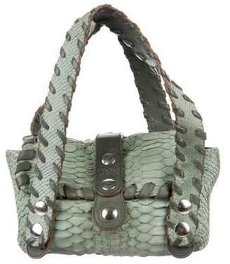 Chloé Snakeskin Handle Bag
