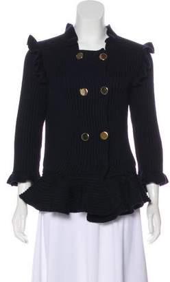 Valentino Knit Wool Blazer