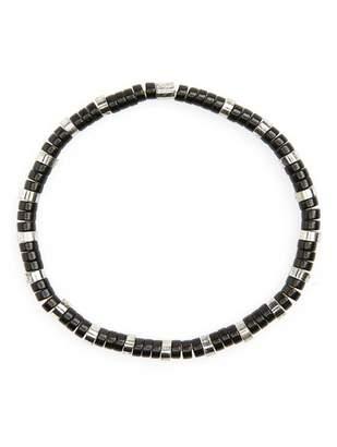 LINK-UP Disc Bead Bracelet