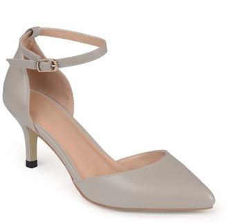 Journee Collection Ike Women's Akle Strap High-Heels