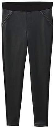 MANGO Contrasting design leggings