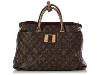 Louis Vuitton Brown Exotic leathers Handbags