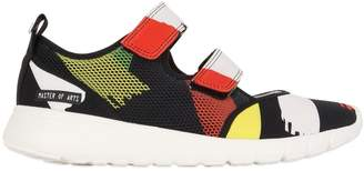 30mm Printed Neoprene & Mesh Sneakers