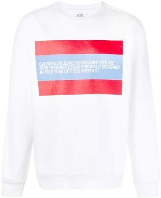 Calvin Klein Jeans chest print sweatshirt
