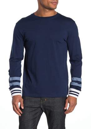 Threads 4 Thought Cooper Contrast Stripe Long Sleeve T-Shirt