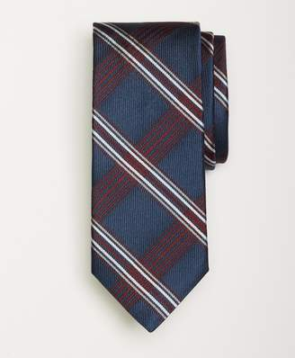 Brooks Brothers Plaid Stripe Tie