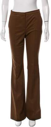 Burberry Mid-Rise Wide-Leg Pants