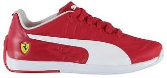 Puma Kids EvoSpeed Ferrari Trainers Junior Boy Shoes Padded Ankle Collar Lace Up