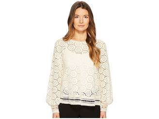 See by Chloe Crochet Lace Top Women's Clothing