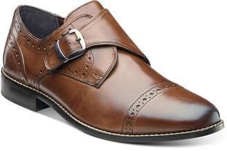 Nunn Bush Men Newton Brogue Monk Strap Shoes Men Shoes
