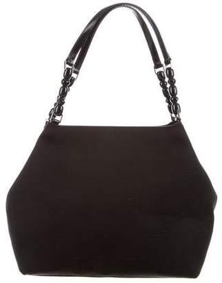 Christian Dior Bead-Embellished Shoulder Bag