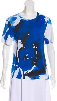 Jason Wu Short Sleeve Printed T-Shirt