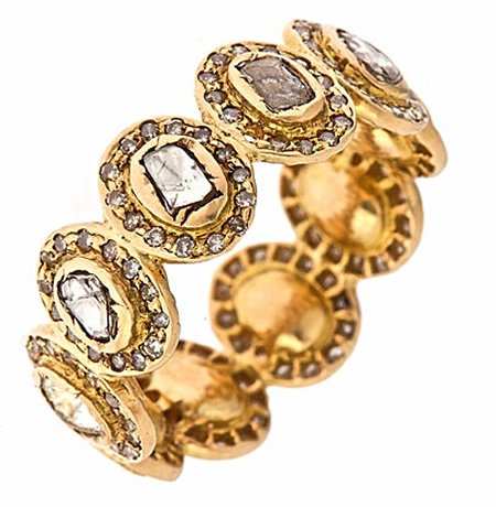 Divya Diamond Multi Disc Diamond Ring