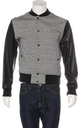 Rag & Bone Woven Letterman Jacket
