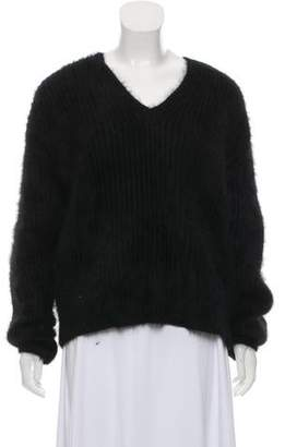 Michael Kors Long Sleeve Angora Sweater