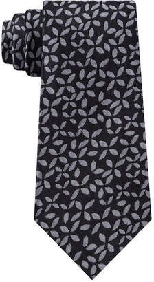 Calvin Klein Men Slim Geo Floral Silk Tie