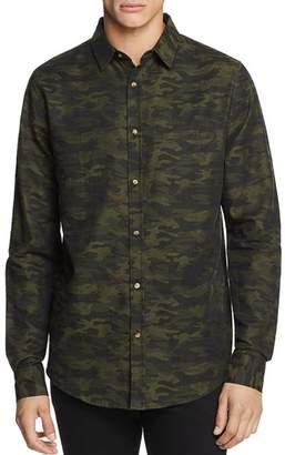 Sovereign Code Camouflage-Print Regular Fit Sport Shirt
