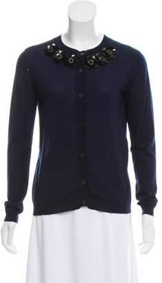 Marni Embellished Cashmere Cardigan
