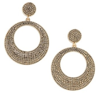 Women's Baublebar Octavia Hoop Earrings $42 thestylecure.com