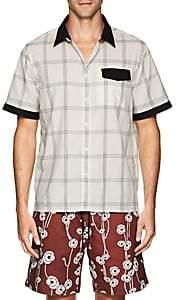 Saturdays NYC Men's Mateo Checked Shirt - White