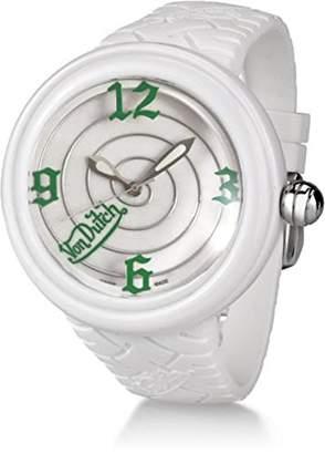 Von Dutch Quartz Plastic Watch
