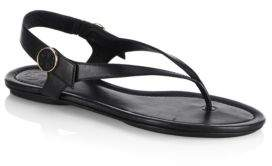 Tory Burch Minnie Leather Travel Sandals