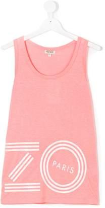 Kenzo logo print tank top