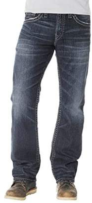 Silver Jeans Co. Men's Nash Classic Fit Straight Leg Jeans