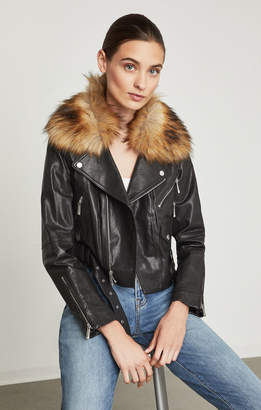BCBGMAXAZRIA Kaylee Leather Biker Jacket