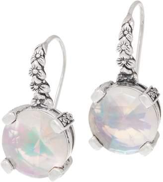 Stephen Dweck Sterling Silver Gemstone Drop Earrings
