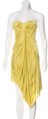 Christian Dior Silk Strapless Dress