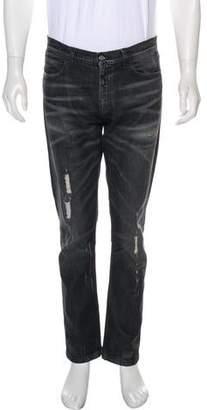 Gucci Distressed Slim Jeans
