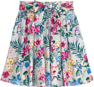 Cath Kidston Tropical Garden Cotton Sateen Skirt