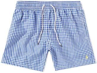 Polo Ralph Lauren Gingham Traveller Swim Short