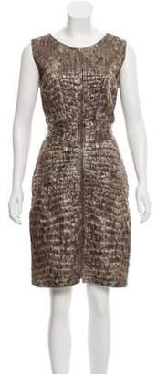 Christian Siriano Silk Knee-Length Dress w/ Tags
