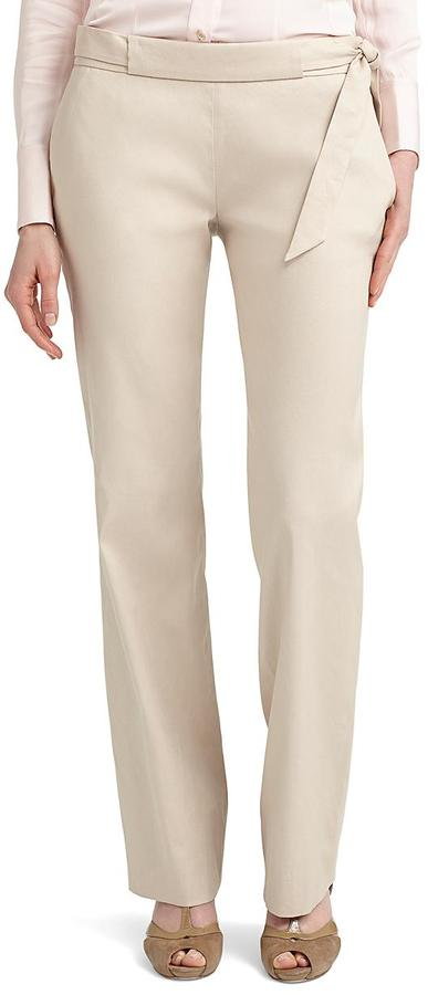 Brooks Brothers Linen Belted Pants