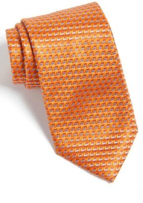 Men's Canali Geometric Silk Tie $160 thestylecure.com