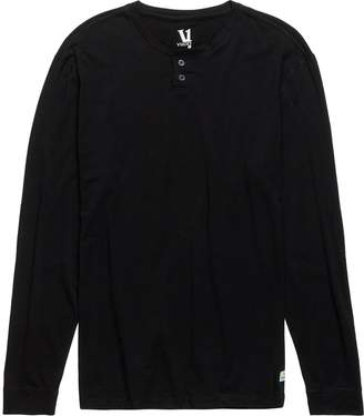 Vuori Ever Long-Sleeve Henley Shirt - Men's