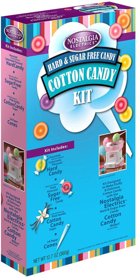 Nostalgia Electrics Retro Cotton Candy Kit