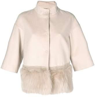 Cara Mila Daisy Wool & Fox Jacket