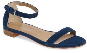 Women's Stuart Weitzman Nudistflat Sandal $355 thestylecure.com