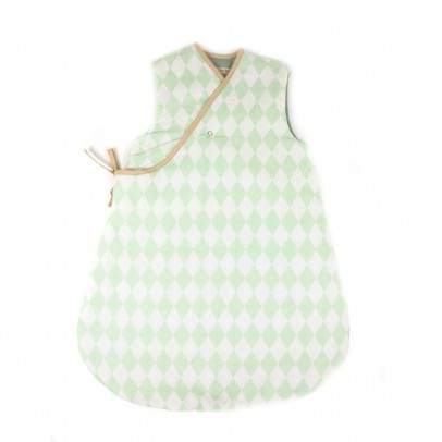Baby sleeping bag - diamonds