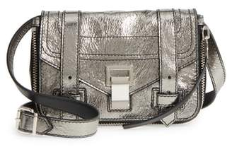 Proenza Schouler Mini PS1 Metallic Leather Crossbody Bag