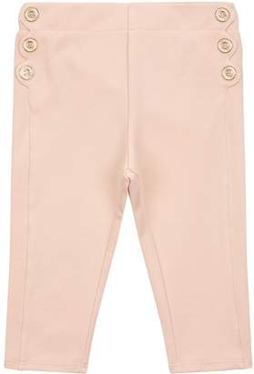 Chloé Scallop Trim Leggings