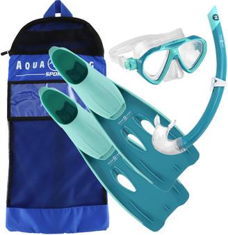 Aqua Lung Sport Junior Panda Snorkel Set Green S / M
