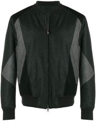 Alexander McQueen panelled bomber jacket