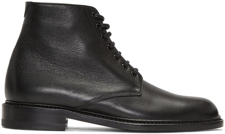 Saint Laurent Black Lolita Boots