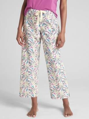 Gap Dreamer Print Drawstring Pants in Poplin